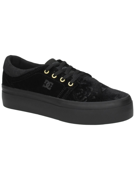 DC Trase Platform TX SE Sneakers zwart
