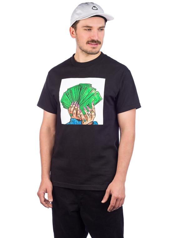 Salem7 Diva Dollars T-Shirt zwart