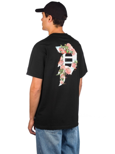 Primitive Dirty P Glitch T-Shirt zwart