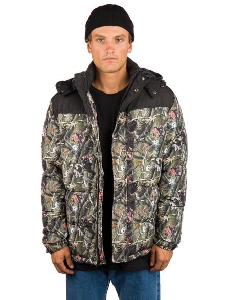 RIPNDIP Nerm & Jerm t-shirt Camo Puffer Ski jas patroon