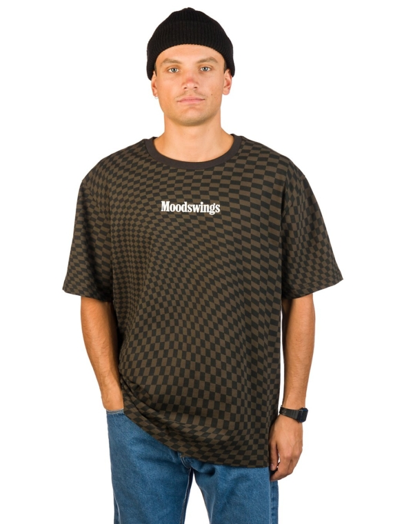 Moodswings Chess T-Shirt zwart