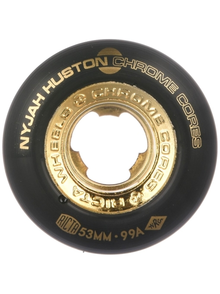 Ricta Nyjah Huston Chrome Core 99A 53 Wheels zwart