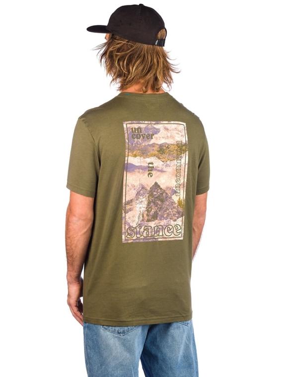 Stance Langley T-Shirt groen