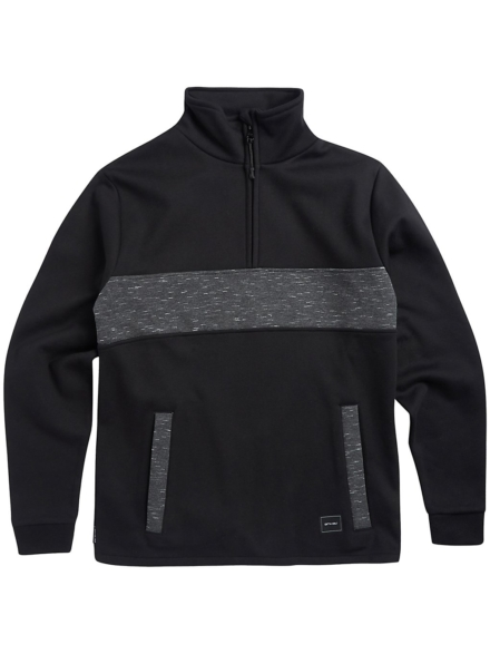 Animal Seward Fleece Pullover zwart