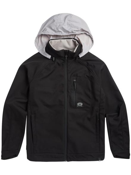 Animal Yukon Fleece Ski jas zwart