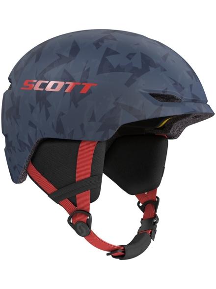 Scott Keeper 2 Plus Skihelm blauw