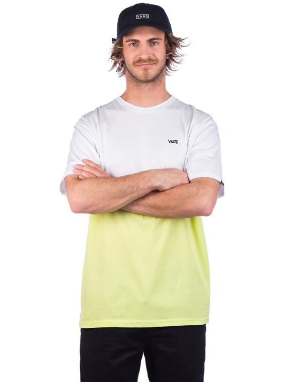 Vans Colorblock T-Shirt wit