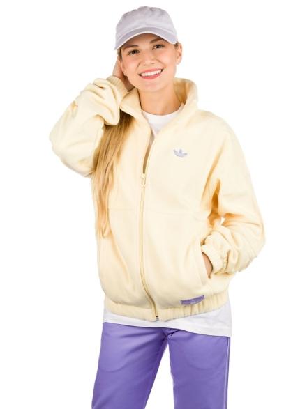 adidas Skateboarding Nora Fleece Ski jas geel