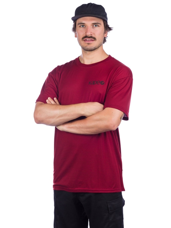 Kape Skateboards Chester T-Shirt rood