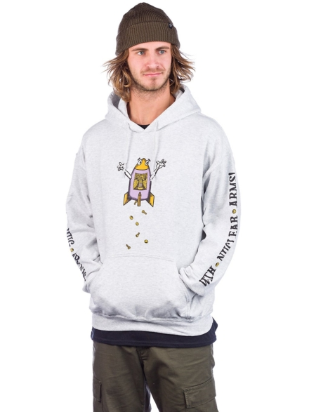 t-shirtnage Hug Friends Hoodie wit