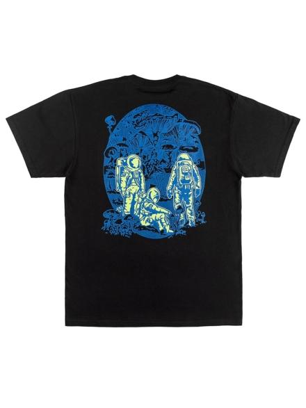 A.Lab Planet of Funghi T-Shirt zwart