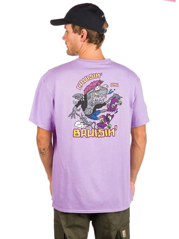 A.Lab Cruisin n Bruisin T-Shirt paars