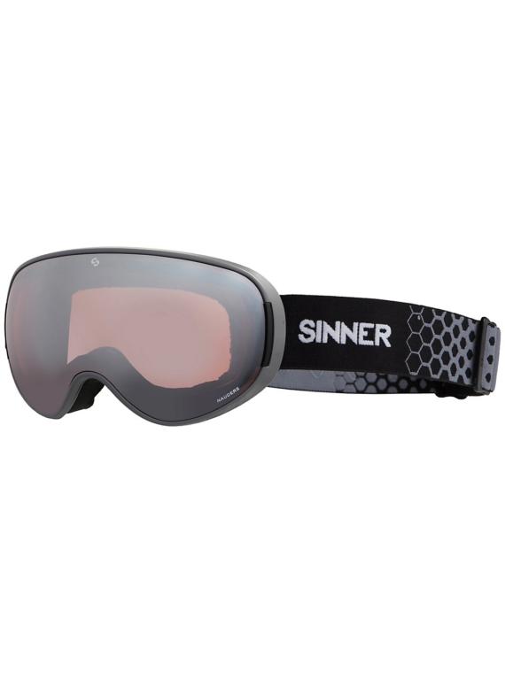 Sinner Nauders Matte Cool Grey (+Bonus Lens) grijs