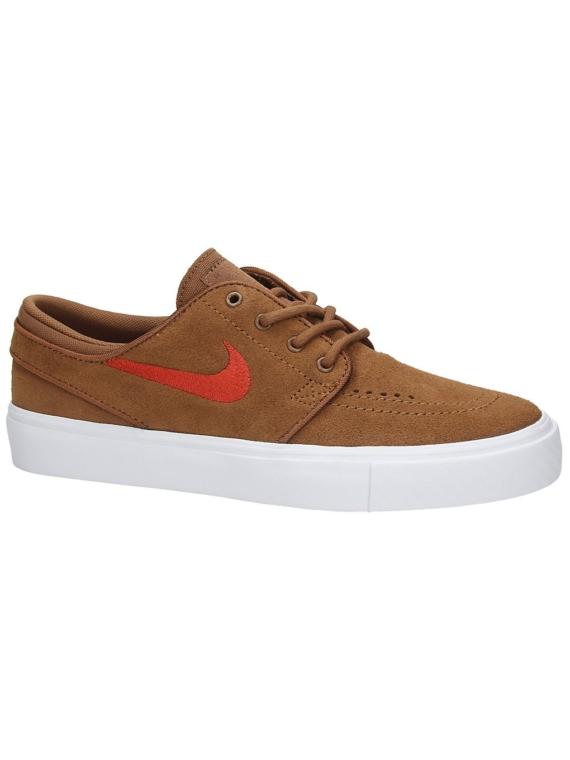 Nike SB Stefan Janoski Suede Skate schoenen bruin