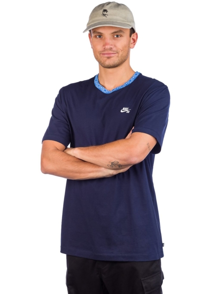 Nike Nordic Rib T-Shirt blauw