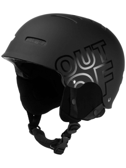 Out Of Wipeout Skihelm zwart