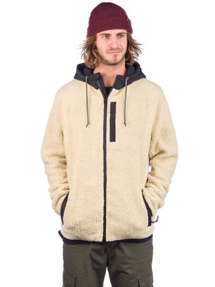 Dravus Denny Sherpa Block Ski jas wit