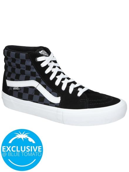 Vans Reflective Checkerboard Sk8-Hi Pro Skate schoenen zwart