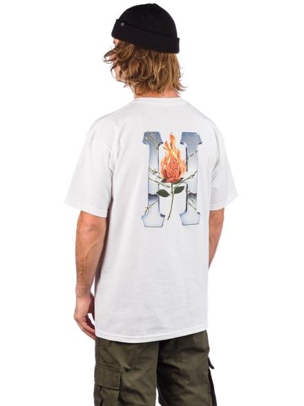 HUF Ember Rose T-Shirt wit