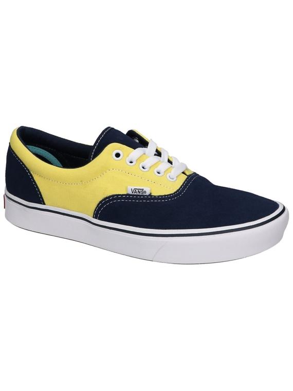 Vans Suede/Canvas ComfyCush Era Sneakers blauw