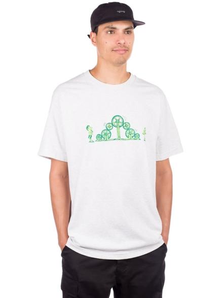Pass Port Crazy Lenghts T-Shirt grijs
