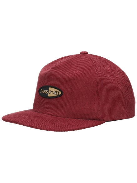 Pass Port Pharmy 5 Panel petje rood
