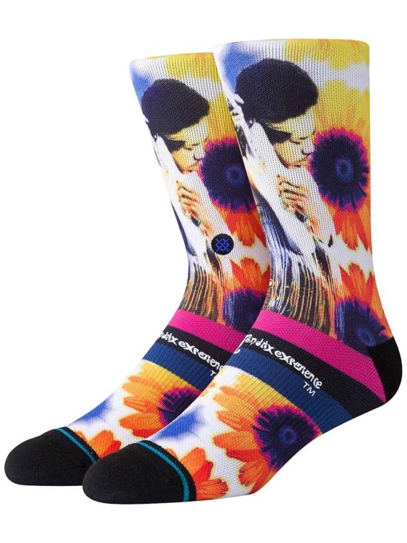Stance Jimi Hendrix Sunflowers skisokken patroon