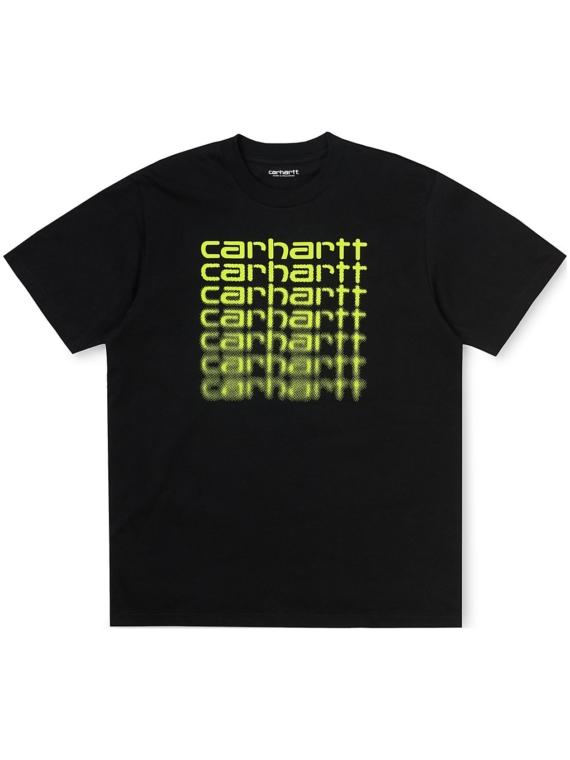 Carhartt WIP Fading Script T-Shirt zwart