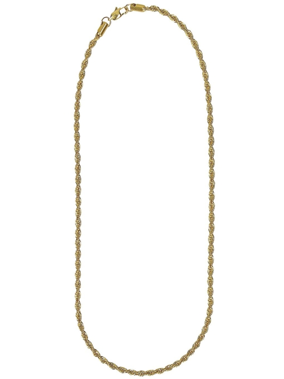The Gold Gods Rope 22″ 4mm Chain geel
