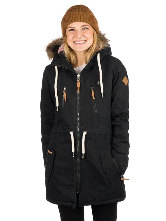 Kazane Kobuk Ski jas zwart