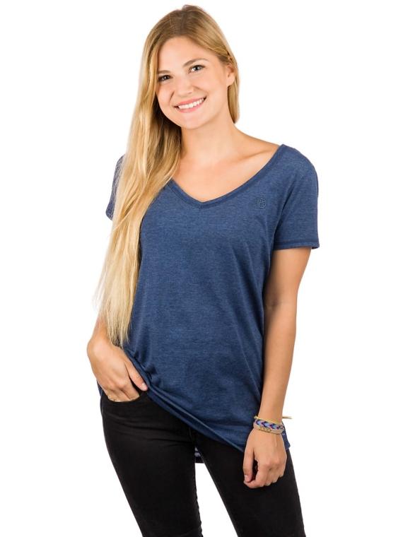 Kazane Ella T-Shirt blauw