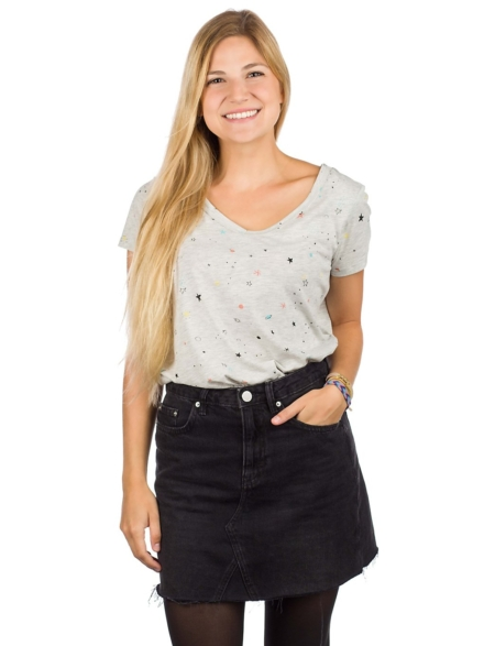 Kazane Ella T-Shirt grijs