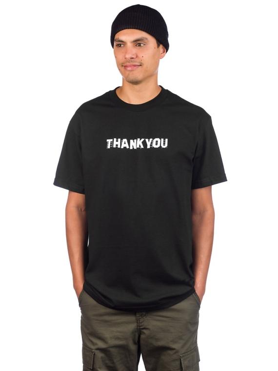 Thank You Hollywood Signage T-Shirt zwart