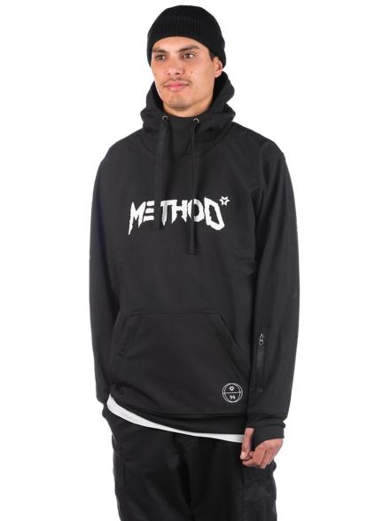 Method Mag Technical Shred Hoodie zwart