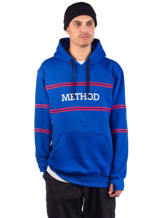 Method Mag Lines Hoodie blauw