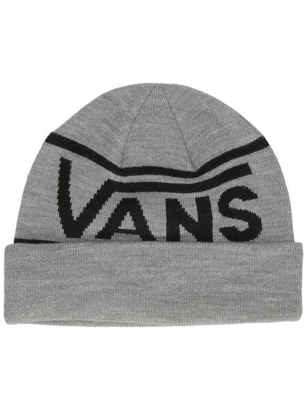 Vans Drop V Stripe Cuff Beanie grijs