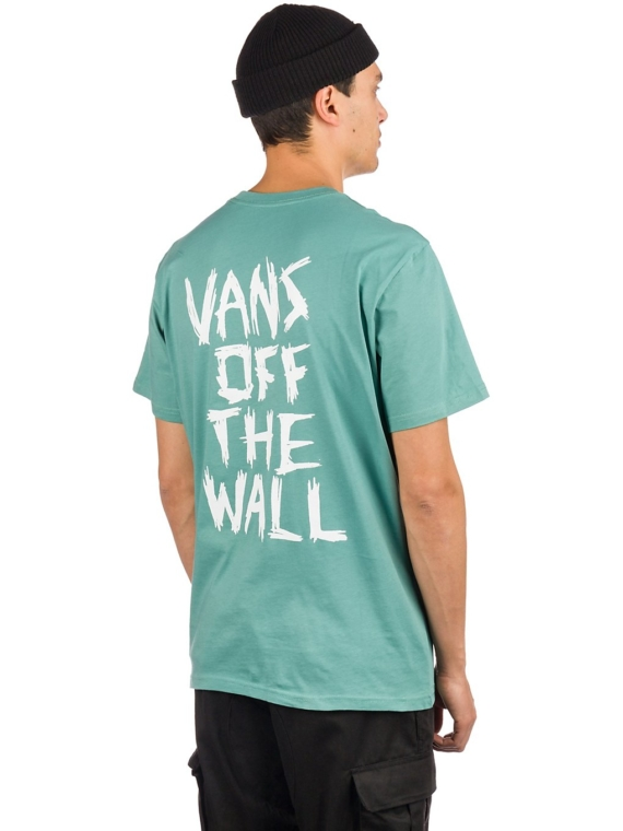 Vans Scratched T-Shirt blauw