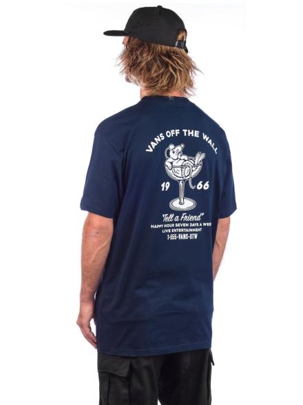 Vans Happy Hour T-Shirt blauw