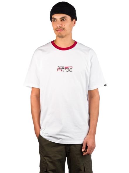Vans X Baker Speed Check T-Shirt wit