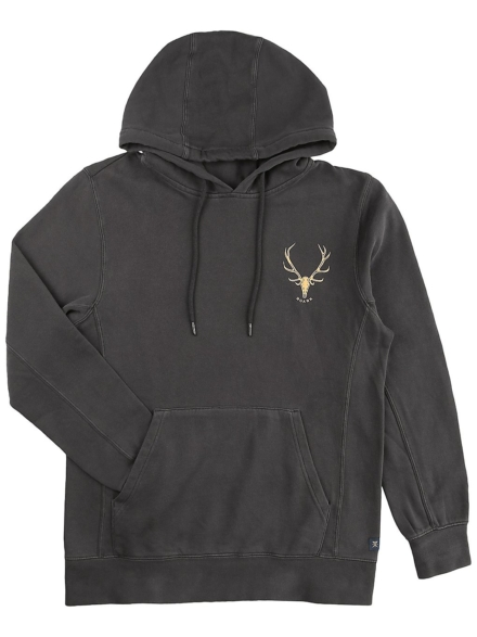 Roark Revival Stag Hoodie zwart