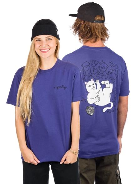 RIPNDIP Tangled T-Shirt paars