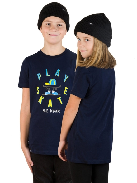 Blue Tomato Play Skate T-Shirt blauw