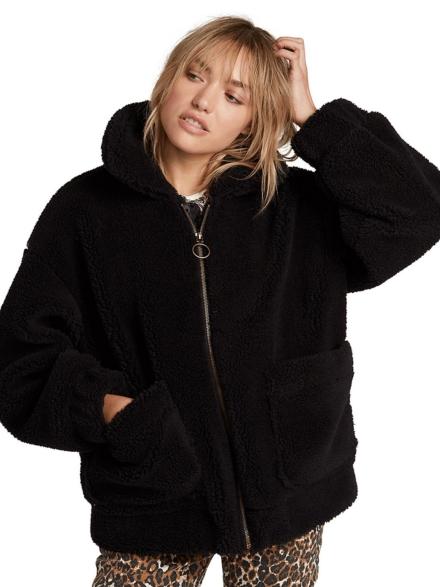 Volcom Sea Sherpant Ski jas zwart