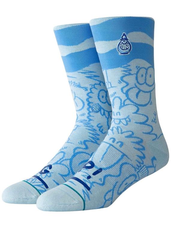 Stance Kevin Lyons Wave skisokken blauw