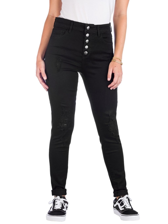 Empyre Drea W/Button Fly Jeans zwart