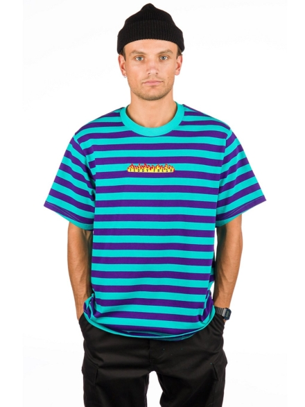 Teddy Fresh Horizontal Stripe T-Shirt blauw
