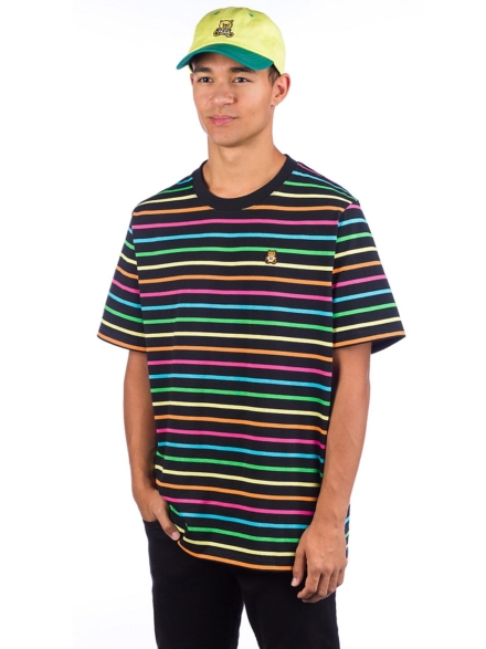 Teddy Fresh Rainbow Stripe T-Shirt patroon