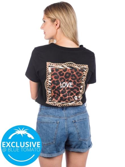 Love Square G Money Love T-Shirt zwart
