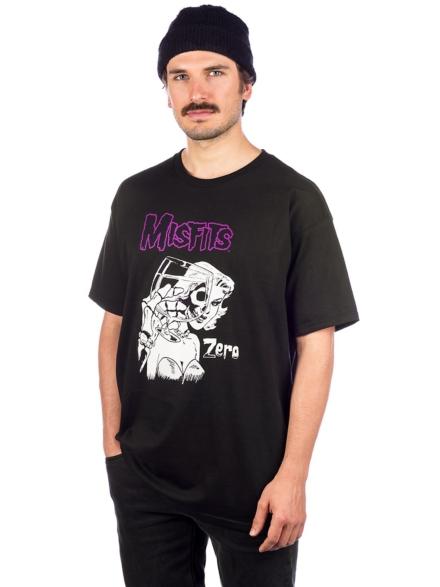 Zero X Misfits Die Die T-Shirt zwart