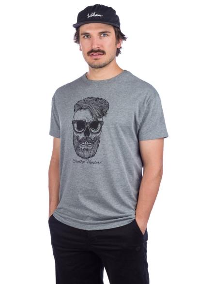 Derbe Hipster T-Shirt grijs